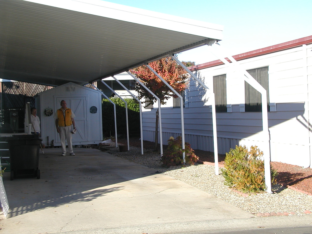 Carports deck awnings abesco distributing co inc the company with a solid foundation